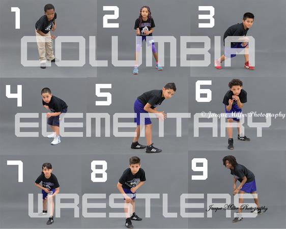 Columbia Wrestlers Proof sheet #1
