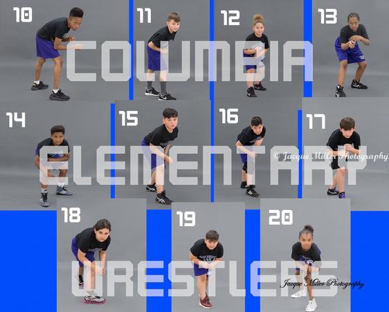 Columbia Wrestlers Proof sheet #2