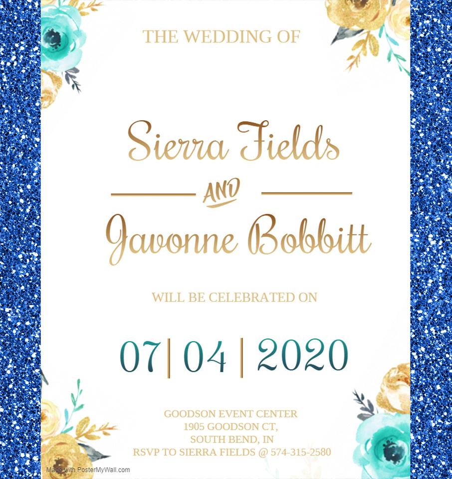 Wedding website-Page 1