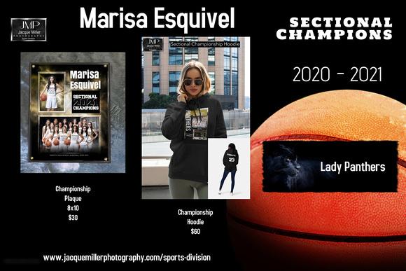 Esquivel, Marisa_Championship Memorabilia