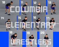 Columbia Wrestlers Proof sheet #2