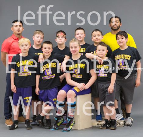 Jefferson Elementary Wrestling 2017