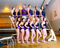 Girls swimming team
